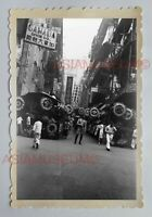 CENTRAL BRITISH INDIA ARMY CANADA SHOE B&W Vintage HONG KONG Photo 28766 香港旧照片