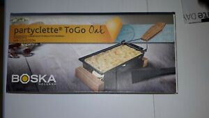 Boska Partyclette cheese Raclette To Go Oak Brand New - Boxed Holland