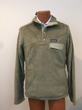 Patagonia Men's Re-Tool Snap-T Fleece Pullover Sweater Shale Green Sz L NWT