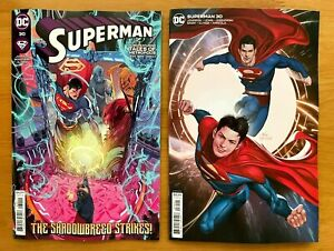 SUPERMAN #30 2021 Main + Inhyuk Lee Variant Set DC NM