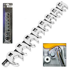 """Crowfoot Wrench 3/8"""" drive Set Flare Nut Spanner Crows Feet Socket Wrench"""