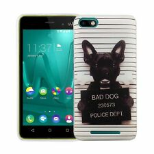 Wiko Lenny 3 Case Phone Cover Protective Heavy Duty Foil White