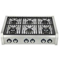 36 INCH PRO STYLE RANGE TOP STAINLESS STEEL