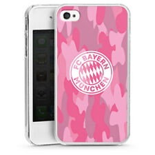 Apple iPhone 4s Handyhülle Hülle Case - Camouflage Pink - FCB