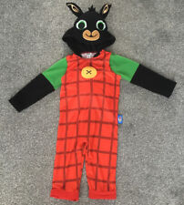 BING BUNNY FANCY DRESS COSTUME 1 1/2-2 YEARS OLD ALL IN ONE OUT FIT TAKE A L@@K
