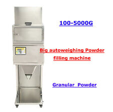 110V 100-5000g  BIG Powder filling machine vibratory filler Tea Weigh Automatic