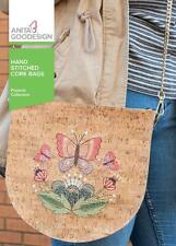 Hand Stitched Cork Bags Anita Goodesign Embroidery Machine Design Cd New