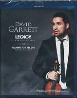 David Garrett Legacy Live IN Baden (2012) Blu-Ray Nuovo/Sigillato