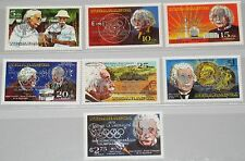 NICARAGUA 1980 2091-97 b ICY Jahr des Kindes Einstein Olympics Moscow ovp MNH