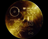 NASA VOYAGER GOLDEN RECORD SOUNDS OF EARTH 8X10 PHOTO