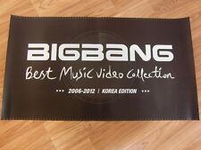 BIGBANG - BEST MUSIC VIDEO COLLECTION [2 SIDED] [ORIGINAL POSTER] K-POP