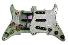 Dragonfire Prewired-Loaded Floyd Rose Strat Pickguard SSS, White Pearl w/ Black