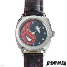 SPIDERMAN Brand New Gentlemens Watch in three tone Leather