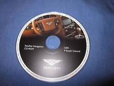 2005 2006 Bentley Flying Spur navigation disc SUR CEN