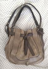 Kooba Parker* hobo/shoulder bag* Large* Taupe/stone leather* factory distressed*