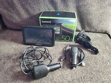 Garmin Nuvi 50LM GPS Navigation System open box TESTED Working