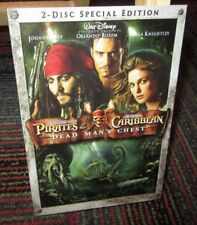 PIRATES OF THE CARIBBEAN: DEAD MAN'S CHEST 2-DISC SPECIAL EDITION DVD MOVIE, GUC