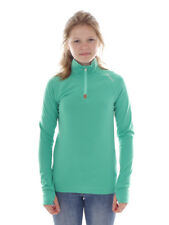 Brunotti Fleece Pullover Function Top Green Yrenny Breathable