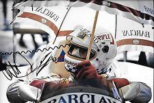 Christian Danner SIGNED 12x8  F1 Arrows-BMW A8  1986 Grand Prix Season