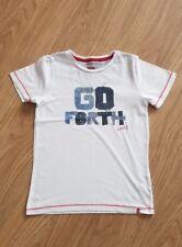 Boys Levi's Short Sleeve T Shirt Age 8 Years White