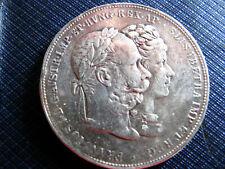 !!! 2 Gulden 1879 Silberhochzeit - Silbermünze Franz Joseph I 1848 - 1916  !!!