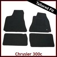 CHRYSLER 300C Mk1 2005-2010 Tailored Carpet Car Floor Mats BLACK