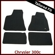 CHRYSLER 300C Mk1 2005-2010 Tailored Carpet Car Floor Mats BLACK