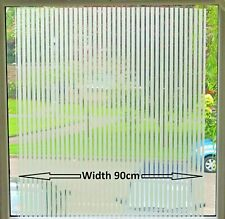 Office Blinds Frosted Static Etched Glass Window Decorative Vinyl Privacy Film