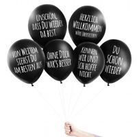 Pechkeks Anti-Party Ballons UNSCHÖN, DAS DU WIEDER DA BIST