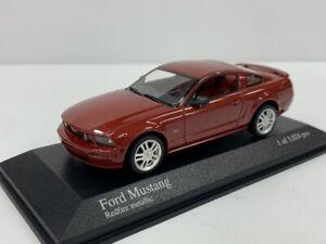 1:43 MINICHAMPS Ford Mustang Redfire Metallic