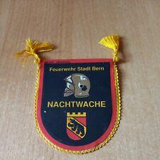 Feuerwehr Wimpel Schweiz Sapeurs pompiers Nachtwache Bern