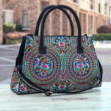 Genuine Embroidered Vintage Tribal BOHO handbag tote bag shoulder bag office bag