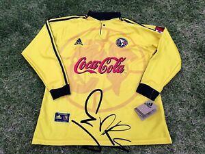 Jersey Retro Club America 2000 Copa Libertadores Manga Larga