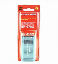 ORIGINALE Canon bp-970g li-Ion-Batteria rivenditore xl1 xl2 xl2s xm1 xm2 XH XF GL