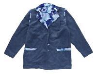 Maggie Carol Womens Size L Corduroy Blue Jacket