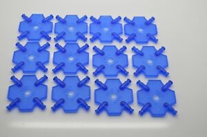 K'NEX Square Panel Mini Blue -  set of 12