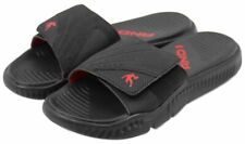 AND1 Mens Black Red Basketball Slides Sandals Shoes Size US10 EUR43 MEX28