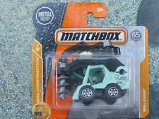 Matchbox 2018 #042/125 taladro excavadora verde Casec