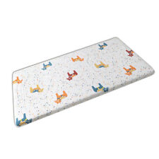Playpen Baby® White Pony Print Fitted Crib Sheet