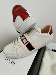 GUCCI Authentic £475 Ace Trainers UK 3 Size 35.5, fits 36 Brand new in box