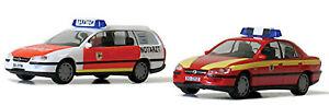 Opel Omega Fw Dortmund 2er-Set 1:87 Herpa 259903