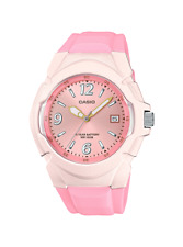 Casio 10 Year Battery Watch, 100 Meter W/R, Date, Pink Resin, LX610-4A2V