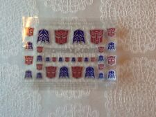 TOYHAX Transformers Faction Symbols - Sheet of 32 stickers - Reprolabels