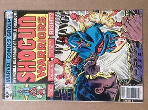 Shogun Warriors 17 VG+ Marvel 1980