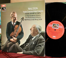 EMI LP ASD-2542: WALTON - Violin & Viola Concertos - MENUHIN - 1970 UK 1st Press
