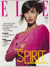 ELLE MAGAZINE PETER CAREY Terry O'Neill ROBIN WRIGHT PENN Yamamoto JUNIOR JPG UK