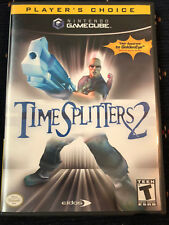 TimeSplitters 2 (Nintendo GameCube, 2002) MINT COMPLETE MAIL 1 DAY