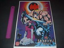 DC COMICS FAMOUS COVERS BATMAN KNIGHTFALL BANE CATWOMAN #498 POSTER PIN UP
