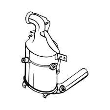 1 Ruß-/Partikelfilter, Abgasanlage BOSAL 095-576 passend für ALFA ROMEO CITROËN