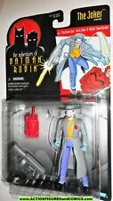 Batman the animated series THE JOKER hat trench coat machine gun 1996 moc